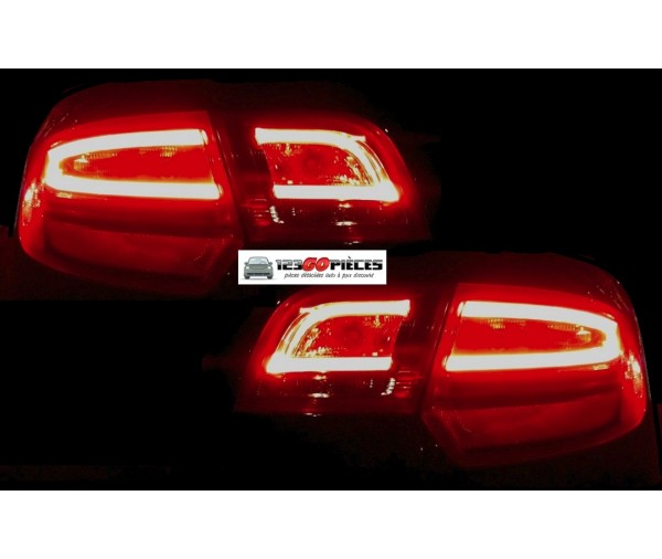 feux arri res led facelift audi a3 sportback 5 portes 2004 2008 379 90 pi ces design pi ces. Black Bedroom Furniture Sets. Home Design Ideas