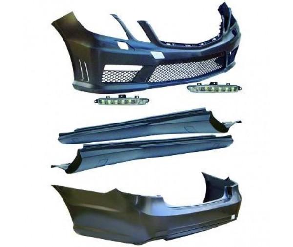 kit carrosserie complet type e63 amg mercedes classe e w212 2009 2013 1 499 90 pi ces design. Black Bedroom Furniture Sets. Home Design Ideas