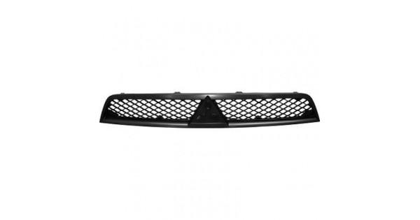 calandre argent noir pour mitsubishi lancer 2007 109 90 pi ces de rechange 123gopieces. Black Bedroom Furniture Sets. Home Design Ideas